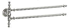Держатель для полотенец двойной KUGU Eldorado 842C Chrome