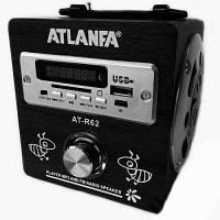 Портативная колонка радиоприемник ATLANFA AT-R62