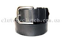 Ремень для джинсов LMi 35 мм черный