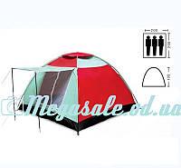 Палатка туристическая трехместная Shengyuan 019: 2х2х1,35 м