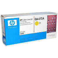Картридж HP Q6472A Yellow