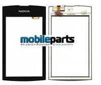 Оригинальный Сенсор (Тачскрин) для Nokia Asha 305 | 306 (Черный)