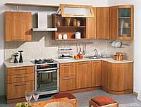 Кухня из массива дерева 010