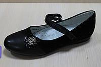 Детские черные туфли на девочку Шанель тм Том.м р. 28,31