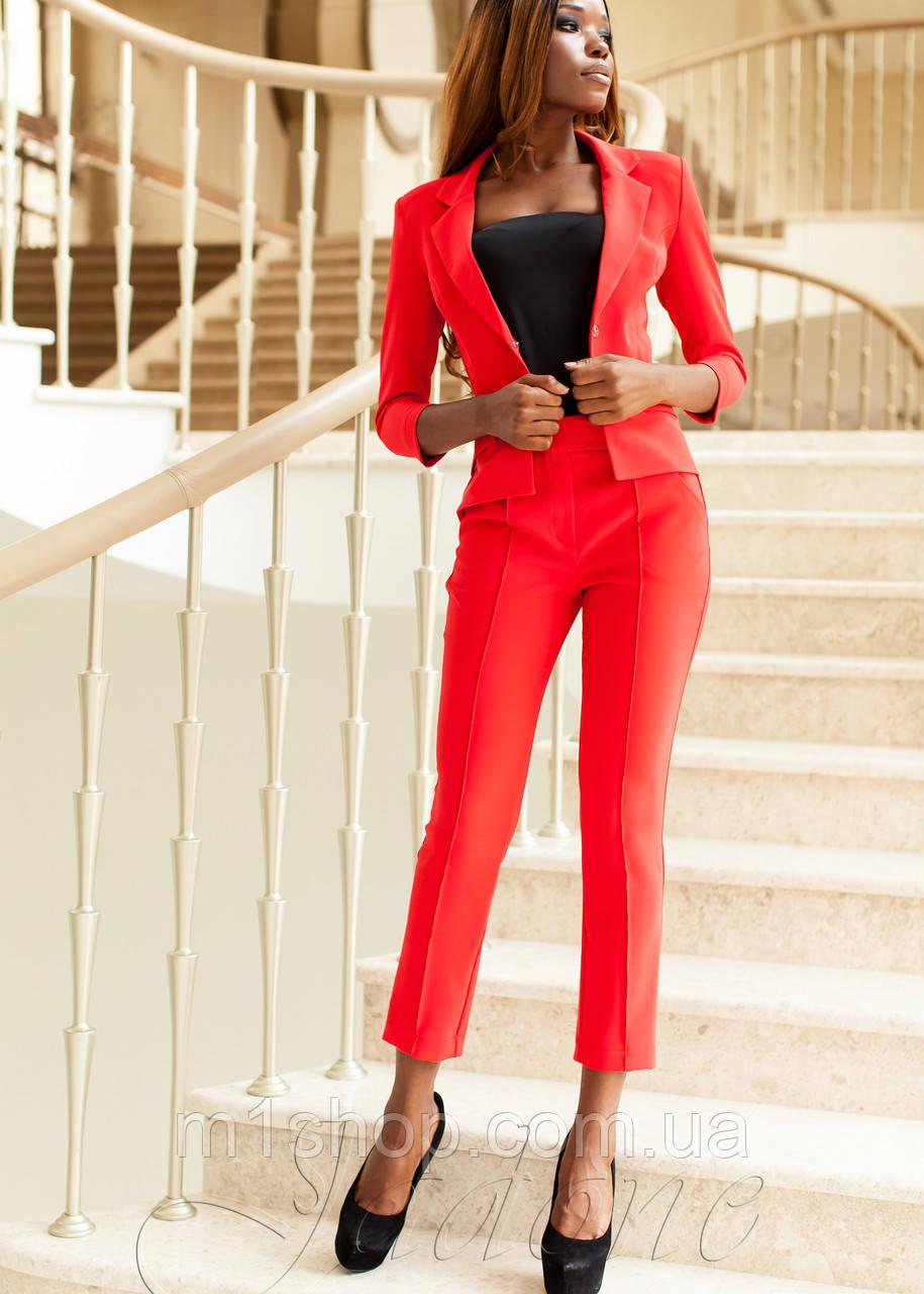 Офисный женский костюм    Ясмин 2 jd