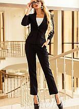 Офисный женский костюм    Ясмин 2 jd, фото 2