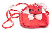 Красная легкая детская сумка Б/Н art. 232