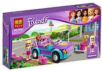Конструктор для девочек Brick Friends Кабриолет Стефани 10167