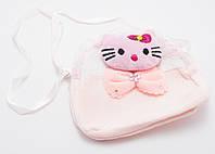 Нежно-розовая легкая детская сумка Б/Н art. 232