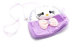 Филетовая легкая детская сумка Б/Н art. 232