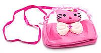 Малиновая легкая детская сумка Б/Н art. 232