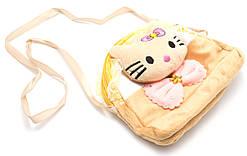 Желтая легкая детская сумка Б/Н art. 232