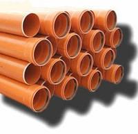 Труба канализационная наружная ARMAKAN ПВХ  160х3,2ммx1-3 м, фото 1