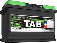 Аккумулятор TAB AGM 80Ah/ пусковой ток 800A, гарантия 36 месяцев