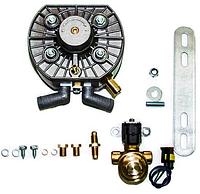 Редуктор KME Silver (пропан-бутан) 4-е пок., эл., до 150 кВт (204 л.с.), вход D6 (M10x1), D12 + ЭМК
