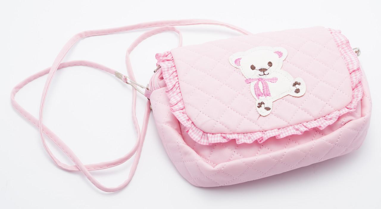 Стильная розовая детская сумка Б/Н art. M3
