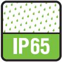 Что означает степень защиты светильника IP65?