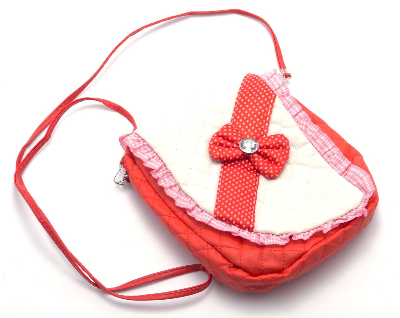 Красивая детская сумочка с бантом Б/Н art. 2312