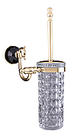 Ёрш настенный для туалета KUGU Diamond 1105G Gold