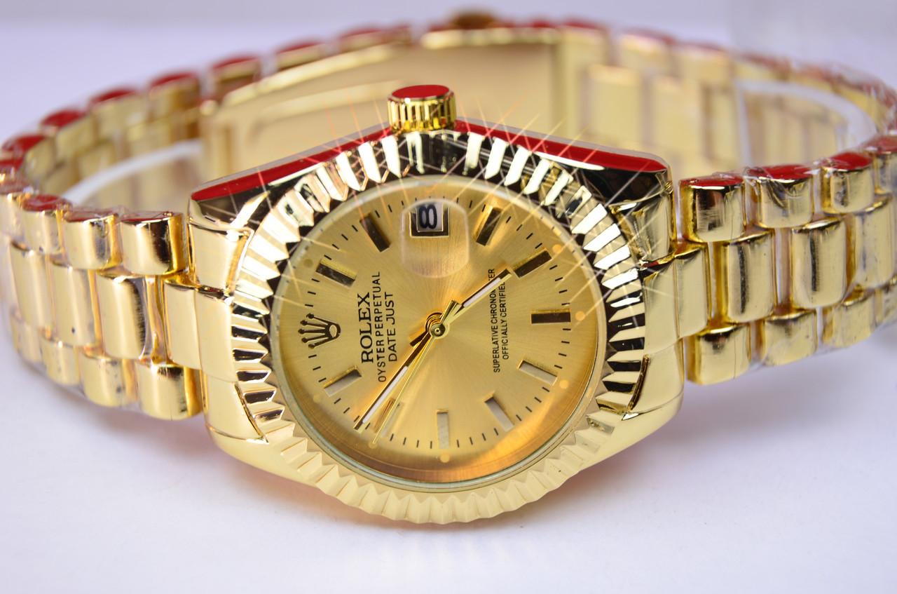 Женские наручные часы  Rolex Oyster Perpetual Datejust Dot Dial Watch