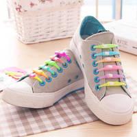 Силиконовые шнурки, комплект из 6 штук, фото 1