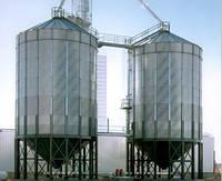 Силосы для хранения зерна с конусным днищем Behlen
