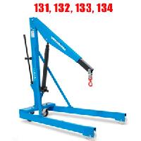 Краны гидравлические подкатные OMCN 131,132,133,134 грузоподъемностью 0,5 и 1 тонн