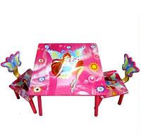 Детский столик со стульчиками «Winx» Bambi D 11551