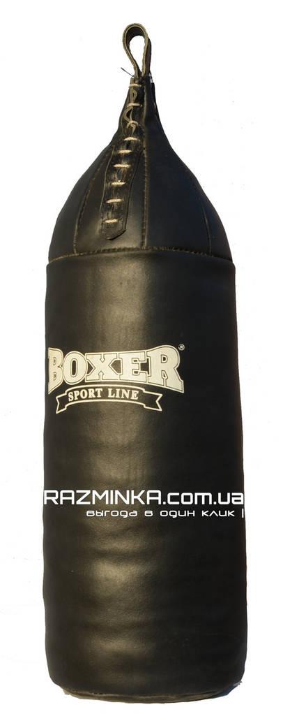 Груша боксерская кожаная (95х26 см, вес 16 кг)