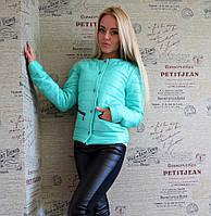 Легкая женская осенняя куртка
