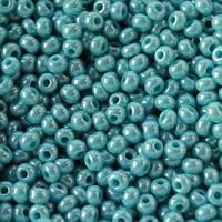 Бисер Preciosa Чехия №68030 1г, голубой жемчужный