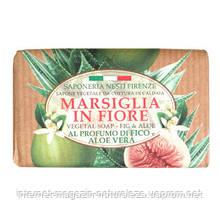 Мыло Nesti Dante Марсель в цветах Фига и алое