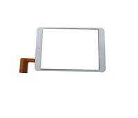 Оригинальный тачскрин / сенсор (сенсорное стекло) для Nomi C07850 (белый цвет, самоклейка)
