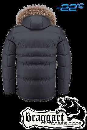 Зимняя черная мужская куртка Braggart Dress Code арт. 4598, фото 2