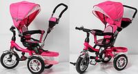 Велосипед трехколесный TR16001 (розовый) KK