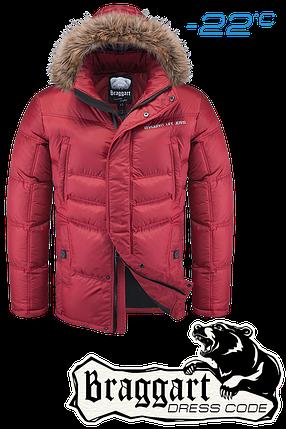 Мужская яркая зимняя куртка Braggart Dress Code арт. 4598, фото 2
