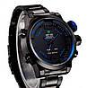 Кварцевые мужские часы WEIDE Sport Watch, с синим