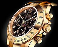 Часы мужские Rolex Cosmograph Daytona black, механические с автоподзаводом