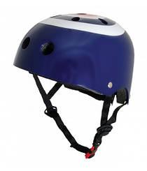 Шлем детский Kiddi Moto синяя мишень