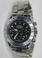 Часы мужские Rolex кварцевые черный циферблат