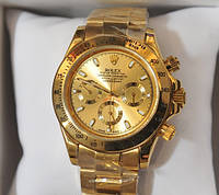 Часы мужские Rolex Daytona Gold механические.