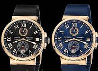 Мужские механические часы Ulysse Nardin (Улис Нардин). Высокое качество!