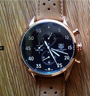 Мужские часы механические TAG Heuer Spacex Mechanic Black.