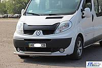 Защита переднего бампера Renault Trafic (2001+)