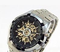 Механические часы мужские с автоподзаводом  WINNER Skeleton, м-011