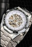 Часы мужские  WINNER Skeleton (механические)