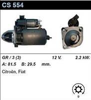 Стартер на CITROEN Commercial C25 1.9 TD, FIAT Ducato 1.9D, Talento 1.9D, Commercial Ducato 1.9D, Talento 1.9D