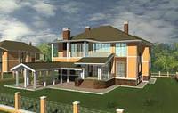 Строительство домов и коттеджей из кирпича. Строительство домов и коттеджей из дерева.
