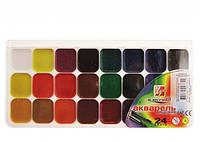 """Краски акварельные  """"Луч"""" """"Класика""""  24 цветов в пластиковой упаковке (19C1294-08/110217)"""