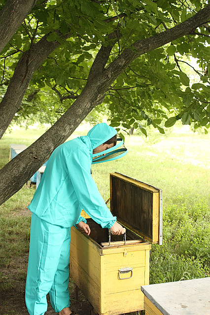 Костюм пчеловода евро (ткань габардин)